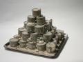 Bertozzi&Casoni, Clay Island, 2006, Ceramica policroma, h. 36,5 x 44,5 x 44,5 cm