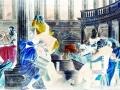 Francesco Pignatelli Disputa di Gesù con i dottori del tempio 2015 C-print 117,5x215 cm