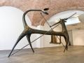 Giuseppe Maraniello, Il gambo dei fiori, 2010, Bronzo, 400 x 490 x 215