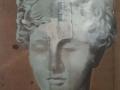 Luca Pignatelli Artemide 2001 olio su tela cm 171x147