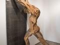 Noi Europa, figli del libro 2006 legno e piombo 265x100x150cm