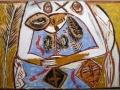 Mimmo Paladino, Senza titolo, 1983, 105 x 75 cm
