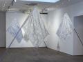 Nicola Bolla, Vanitas White Flags, 2006, Cristalli Swarovski, ottone e ferro, 250 x 250 x 125 cm