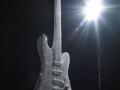 Nicola Bolla, Vanitas Fender, 2009, Cristalli Swarovski e ottone, 120 x 34 x 6 cm