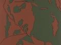 Tano Festa, Da Michelangelo, 1976, Acrilici su tela, 50 x 40 cm