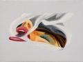 T.Wesselmann- Smoker Study-1977-olio su tela-cm 10,16x18