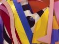 Tom Wesselmann, Bowery Bullseye, 2002, olio su allumino ritagliato, 216 x 210 x 14 cm