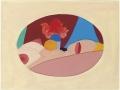 Tom Wesselmann, Study for Metal Nude, 1970, Tecnica mista su carta, 21 x 28,6 cm